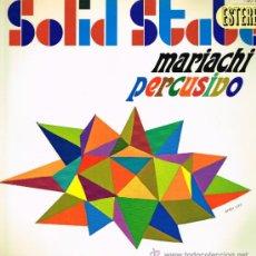 Discos de vinil: MARIACHI PERCUSIVO - ARREGLOS Y DIRECCIÓN TED SOMMER - LP 1967 - PORTADA DOBLE. Lote 31012230