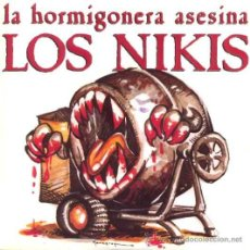 Discos de vinilo: LOS NIKIS ··· LA HORMIGONERA ASESINA / AGRADECIDOS - (SINGLE 45 RPM) . Lote 31019096