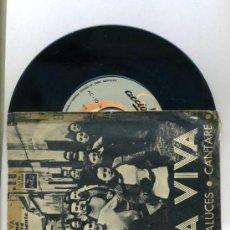 Discos de vinilo: AGUAVIVA : POETAS ANDALUCES (ACCION, 1969). Lote 31024469