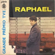 Discos de vinil: RAPHAEL YO SOY+3 AQUEL CUBIRTA PORTUGAL ALVORADA H11099. Lote 31035315