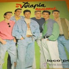 Vinyl records - TERAPIA NACIONAL - LOCO POR TI - LP - SALAMANDRA 1991 SPAIN SD-308 - N MINT - 31044610