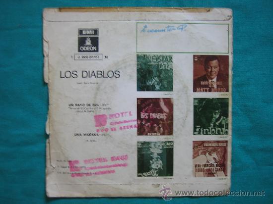 Discos de vinilo: Singels Los Diablos 1970 - Foto 4 - 31044163