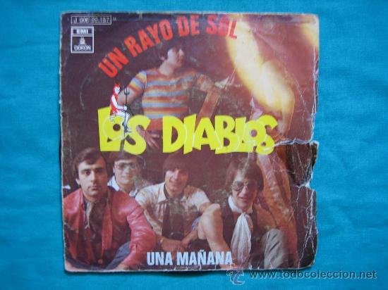 SINGELS LOS DIABLOS 1970 (Música - Discos de Vinilo - Maxi Singles - Grupos Españoles de los 70 y 80)