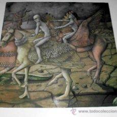 Discos de vinilo: DANIEL VEGA / LA NOCHE QUE PRECEDE A LA BATALLA LP CARPETA DOBLE (MOVIEPLAY - GONG, 1976). Lote 31060349