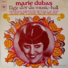 Discos de vinilo: LP FRANCÉS DE MARIE DUBAS AÑO 1968. Lote 31064661
