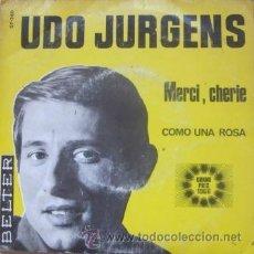 Discos de vinil: UDO JURGENS - MERCI, CHERIE - EUROVISIÓN . Lote 31072354