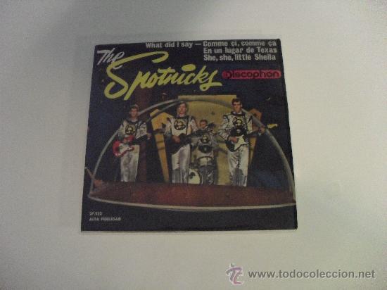 THE SPOTNICKS - WAHT DID I SAY ? + 3 EP 1963 (Música - Discos de Vinilo - EPs - Pop - Rock Extranjero de los 50 y 60)