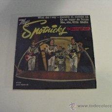 Discos de vinilo: THE SPOTNICKS - WAHT DID I SAY ? + 3 EP 1963. Lote 31074518