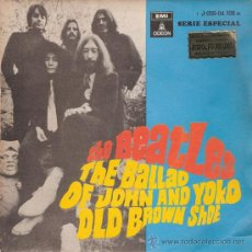 Vinyl-Schallplatten - THE BEATLES - THE BALLAD OF JOHN AND YOKO / OLD BROWN SHOE (45 RPM) EMI 1969 - VG++/VG++ - 31079968