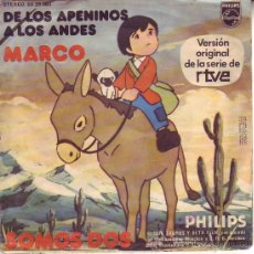 Discos de vinilo: DE LOS APENINOS A LOS ANDES. Lote 31082354