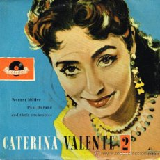 Discos de vinilo: WERNER MULLER, PAUL DURAND - CATERINA VALENTE - IF HEARTS COULD TALK / FIESTA CUBANA, ETC - EP 196?. Lote 31089354
