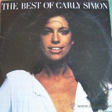 Disques de vinyle: LP - CARLY SIMON - THE BEST OF - EDICION PORTUGUESA, ELEKTRA RECORDS 1976. Lote 31097474