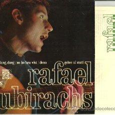 Discos de vinilo: RAFAEL SUBIRACHS NO HO HEU VIST + 3 EP CONCENTRIC 67 AMB LLETRES @ELS SETZE JUTGES@ EX/EX. Lote 31100429
