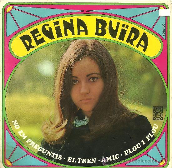 REGINA BUÏRA NO EM PREGUNTIS + 3 EP PROMO CONCENTRIC 1968 @ FOLK @ VG++ / EX (Música - Discos de Vinilo - EPs - Cantautores Españoles)