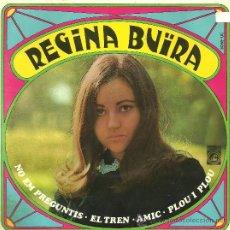 Discos de vinilo: REGINA BUÏRA NO EM PREGUNTIS + 3 EP PROMO CONCENTRIC 1968 @ FOLK @ VG++ / EX. Lote 31100754