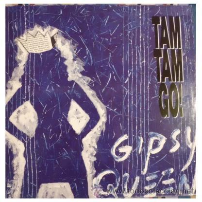 TAM TAM GO - GIPSY QUEEN ( DANCING IN THE RAIN - MAXI SINGLE RARO DE VINILO CON 4 TEMAS (Música - Discos de Vinilo - Maxi Singles - Grupos Españoles de los 70 y 80)