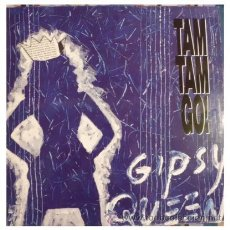 Discos de vinilo: TAM TAM GO - GIPSY QUEEN ( DANCING IN THE RAIN - MAXI SINGLE RARO DE VINILO CON 4 TEMAS. Lote 31101345