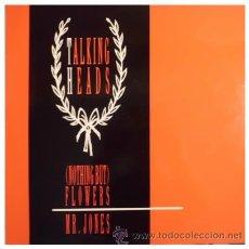Discos de vinilo: TALKING HEADS - ( NOTHING BUT ) FLOWERS - MAXI SINGLE DE 12 PULGADAS ESPAÑOL. Lote 31101421