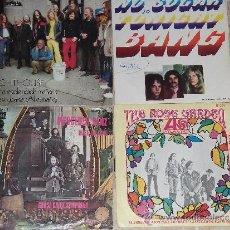 Discos de vinilo: LOTE DE CUATRO SINGLES- BANG / LIGHTHOUSE / THE ROSE GARDEN / GOOSE CREEK SYMPHONY. Lote 31102413