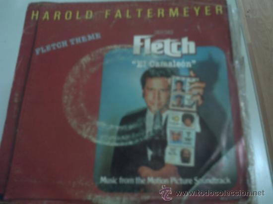 .SINGLE BSO FLETCH EL CAMALEON - HAROLD FALTERMEYER PEPETO (Música - Discos - Singles Vinilo - Bandas Sonoras y Actores)