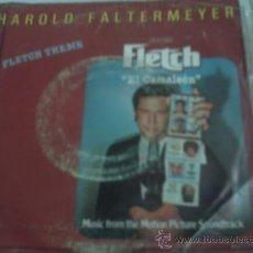Vinyl records - .SINGLE BSO FLETCH EL CAMALEON - HAROLD FALTERMEYER - 31132039