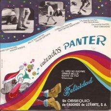 Discos de vinilo: SINGLE-COMERCIAL CALZADOS PANTER-VILLANCICOS-1967-PUBLICIDAD. Lote 31109890