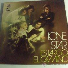 Discos de vinilo: LONE STAR - ES LARGO EL CAMINO 1972 IMPECABLE PORTADA DOBLE. Lote 31113830