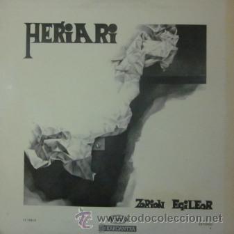 HERIARI - ZORION EGILEOR - LP - PORTADA DOBLE - 1977 (Música - Discos - LP Vinilo - Cantautores Españoles)