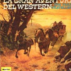 Discos de vinilo: THE TEXAS TRAVELLERS - LA GRAN AVENTURA DEL WESTERN - DOBLE LP 1976 - PORTADA DOBLE - . Lote 31114654