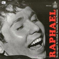 Disques de vinyle: RAPHAEL - EP YO SOY AQUEL + 3. Lote 31116987