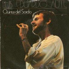 Discos de vinilo: LUIS EDUARDO AUTE - QUINTA DEL SORDO. Lote 31117667