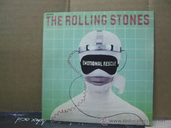 THE ROLLING STONES - EMOTIONAL RESCUE / DOWN IN THE HOLE - EDICION FRANCESA - PATHE EMI 1980 (Música - Discos - Singles Vinilo - Pop - Rock - Extranjero de los 70)