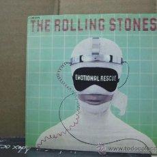Discos de vinilo: THE ROLLING STONES - EMOTIONAL RESCUE / DOWN IN THE HOLE - EDICION FRANCESA - PATHE EMI 1980. Lote 31123402