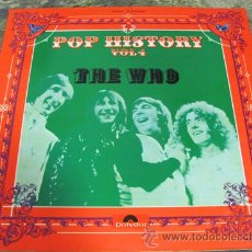 Discos de vinilo: THE WHO - POP HISTORY - DOBLE LP 1971. Lote 31128909