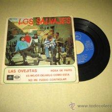 Discos de vinilo: LOS SALVAJES - LAS OVEJITAS ... - VER FOTO. Lote 31135484