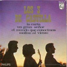 Discos de vinilo - los 3 de Castilla - EP La Carta + 3 - 31225983