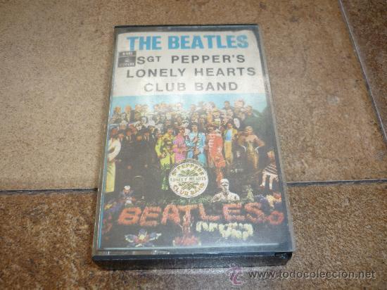 CINTA DE CASSETTE THE BEATLES SGT PEPPER`S 1969 (Música - Discos - LP Vinilo - Pop - Rock Extranjero de los 50 y 60)
