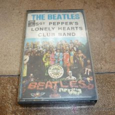 Discos de vinilo: CINTA DE CASSETTE THE BEATLES SGT PEPPER`S 1969. Lote 34550377
