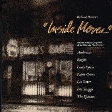 Discos de vinilo: ABROSIA / EAGLES / LADY SYLVIS, ETC - BSO INSIDE MOVES - LP 1980 - . Lote 31147869