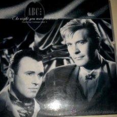 Discos de vinilo: ABC - MAXI SINGLE - THE NIGTH YOU MURDERED LOVE - MERCURY 1.987. Lote 31155318