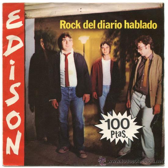 Resultado de imagen de edison disco rock del diario
