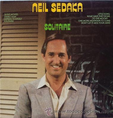 NEIL SEDAKA - SOLITAIRE . LP .1982 . 51 WEST RECORDS USA (Música - Discos - LP Vinilo - Pop - Rock - Internacional de los 70)