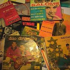 Discos de vinilo: LOTE DE 20 SINGLES. VARIADOS DESDE 1950 A 1970.. Lote 31176662