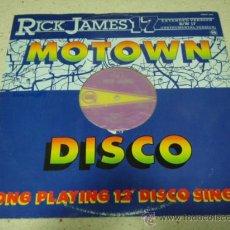 Discos de vinilo: RICK JAMES ( 17 VOCAL + INSTRUMENTAL ) ENGLAND - 1984 MAXI45 GORD-Y. Lote 31178195