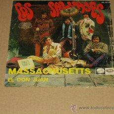 Discos de vinilo: SALVAJES SINGLE EL DON JUAN FREAKBEAT. Lote 31179031