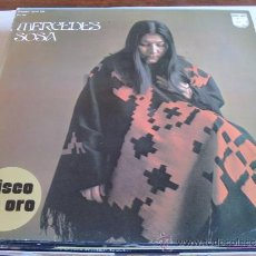 Discos de vinilo: MERCEDES SOSA - DISCO DE ORO LP. Lote 31191495