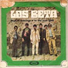 Discos de vinilo: LOS BETA - LLEGA EL DOMINGO / IN THE YEAR 2525 (45 RPM) MOVIEPLAY 1969 - VG+/VG++. Lote 31197704