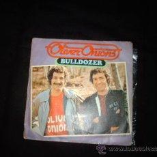 Discos de vinilo: OLIVER ONIONS-BULLDOZER- SINGLE PORTADA RARO-BUD SPENCER. Lote 31198471