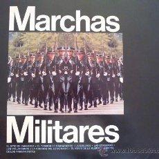 Discos de vinilo: MARCHAS MILITARES - ORQUESTA MARAVELLA DE CONCIERTOS, BANDA DE AVIACIÓN,GRAN BANDA MILITAR CON COROS. Lote 31199614