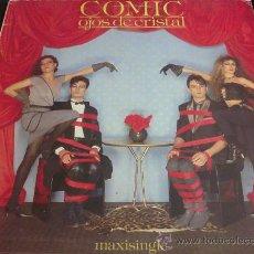 Discos de vinilo: COMIC - OJOS DE CRISTAL - MAXI SINGLE PROMOCIONAL. Lote 31201417